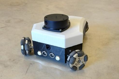 Le prototype du robot-capteur RIM
