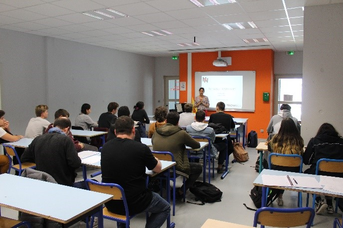 Formation TRIPOLI-4 au lycée Albert Einstein de Bagnols-sur-Cèze